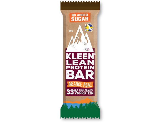 KLEEN Lean Protein Bar Orange Açaí 50g